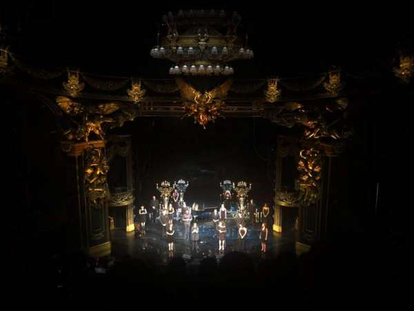 Majestic Theatre, section: Front Mezzanine, row: G, seat: 108