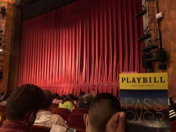 August Wilson Theatre, section: Orchestra R, row: H, seat: 12