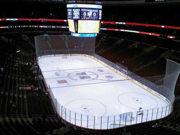 Wells Fargo Center, section: 205A, row: 10, seat: 10