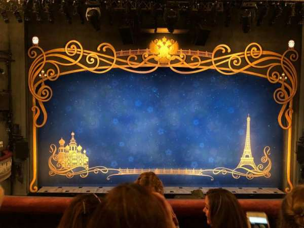 Broadhurst Theatre, section: MEZZC, row: C, seat: 106