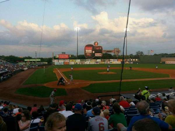 Herschel Greer Stadium, section: K