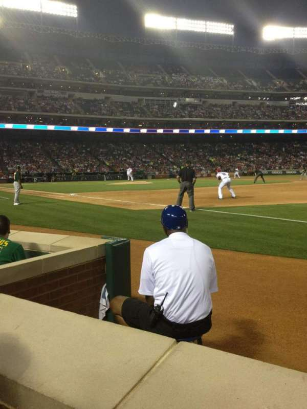 Globe Life Park in Arlington, section: 37, row: 1, seat: 5