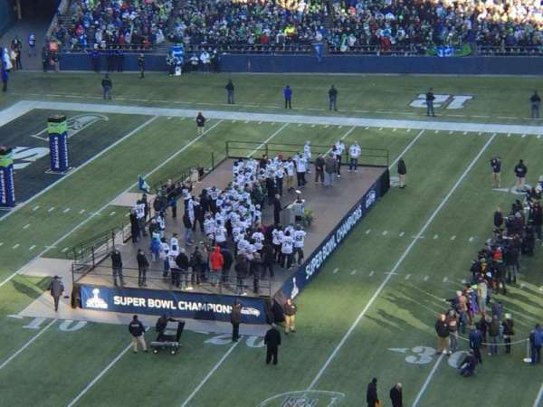 Centurylink Field, section: 335, row: F, seat: 6