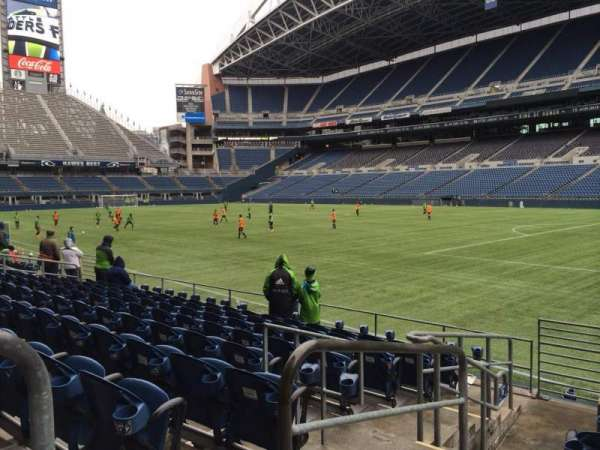 CenturyLink Field, section: 130, row: I, seat: 14