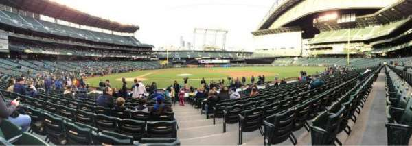 T-Mobile Park, section: 124, row: 17, seat: 1