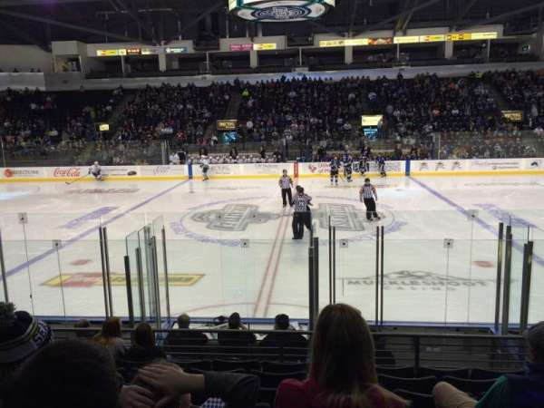 Accesso ShoWare Center, section: 115, row: 9, seat: 5