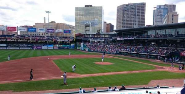 Dunkin Donuts Park Section 116 Home Of Hartford Yard Goats