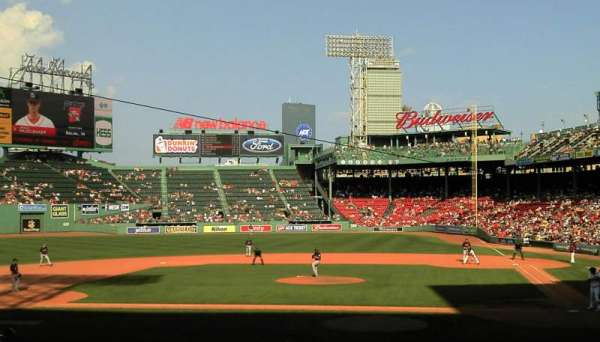 Fenway Park, section: 24-B141, row: JJ, seat: 1
