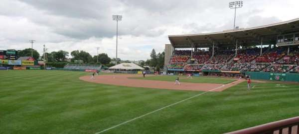 McCoy Stadium, section: 15, row: A, seat: 23