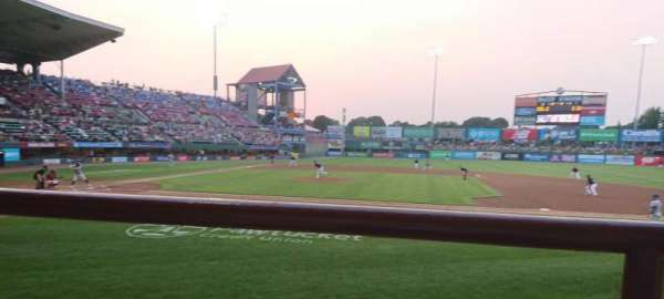 McCoy Stadium, section: 2, row: A, seat: 15