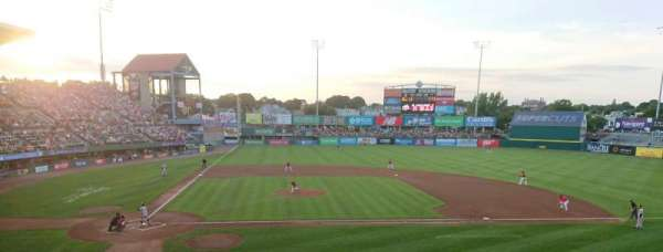 McCoy Stadium, section: 3, row: DD, seat: 19
