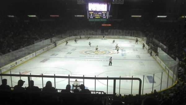 Dunkin' Donuts Center, section: 240, row: E, seat: 11