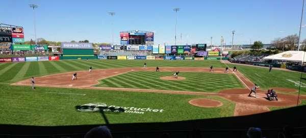 McCoy Stadium, section: 9, row: H, seat: 9