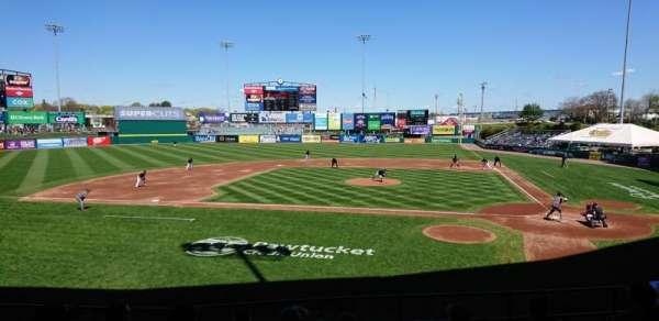 McCoy Stadium, section: 9, row: H, seat: 13