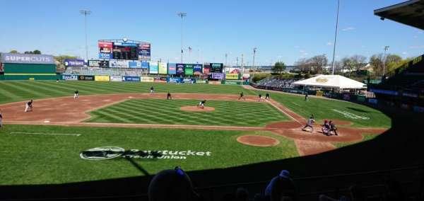 McCoy Stadium, section: 9, row: H, seat: 17