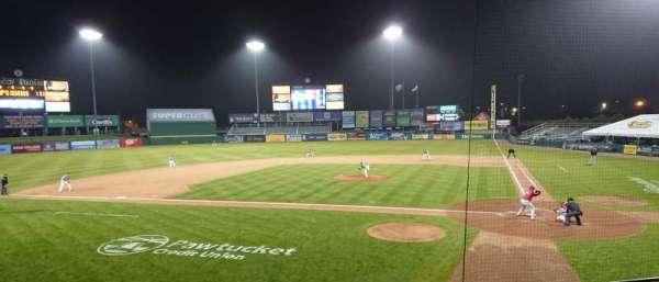 McCoy Stadium, section: 9, row: F, seat: 1
