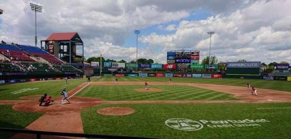 McCoy Stadium, section: 4, row: C, seat: 11