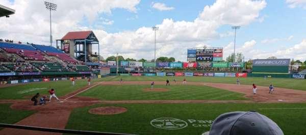 McCoy Stadium, section: 4, row: C, seat: 5