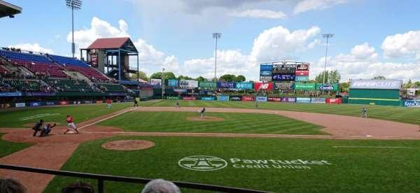 McCoy Stadium, section: 4, row: C, seat: 1