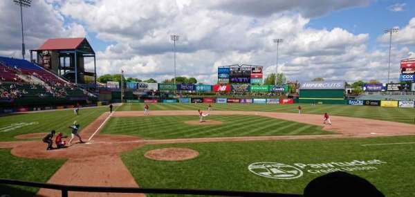 McCoy Stadium, section: 4, row: C, seat: 15