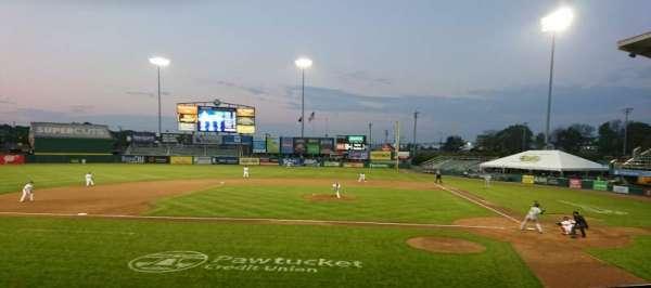 McCoy Stadium, section: 9, row: D, seat: 16