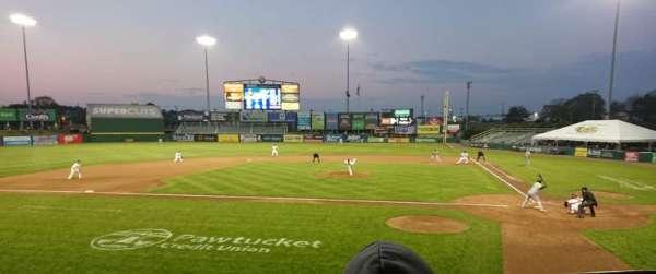 McCoy Stadium, section: 9, row: D, seat: 8