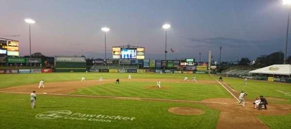 McCoy Stadium, section: 9, row: D, seat: 4