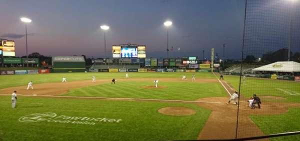 McCoy Stadium, section: 9, row: D, seat: 1