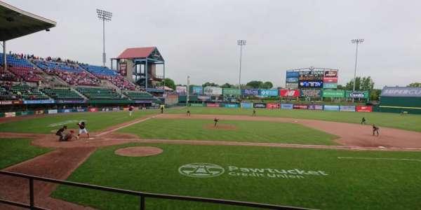 McCoy Stadium, section: 3, row: D, seat: 16