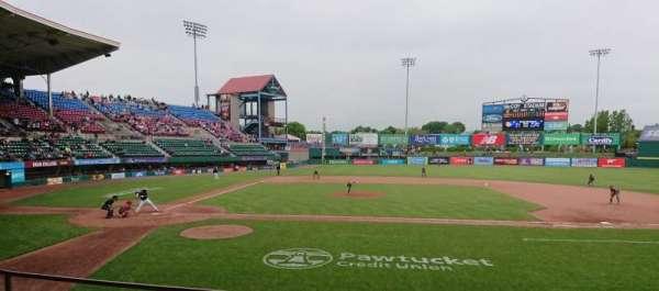 McCoy Stadium, section: 3, row: D, seat: 11
