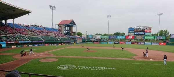 McCoy Stadium, section: 3, row: D, seat: 6