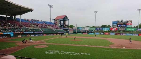 McCoy Stadium, section: 3, row: D, seat: 1