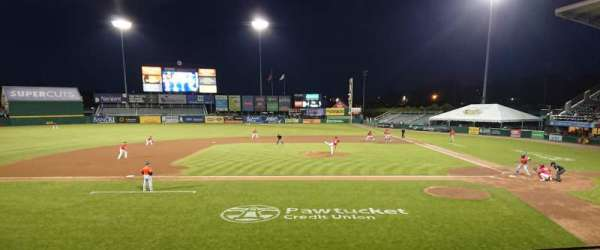 McCoy Stadium, section: 10, row: F, seat: 9