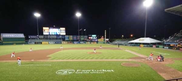McCoy Stadium, section: 10, row: F, seat: 5