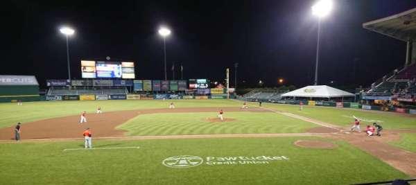 McCoy Stadium, section: 10, row: F, seat: 13