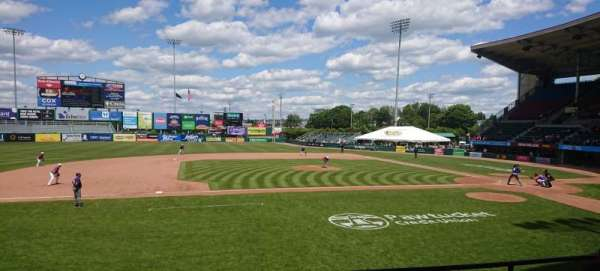 McCoy Stadium, section: 11, row: D, seat: 11