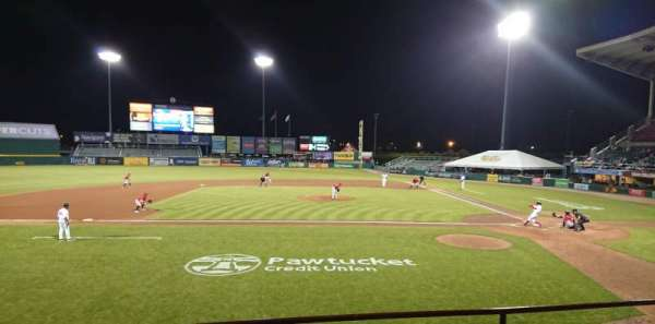 McCoy Stadium, section: 10, row: D, seat: 6