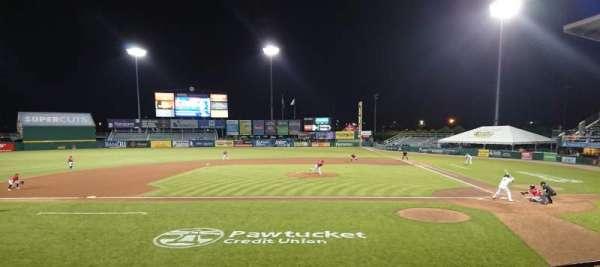 McCoy Stadium, section: 10, row: D, seat: 1