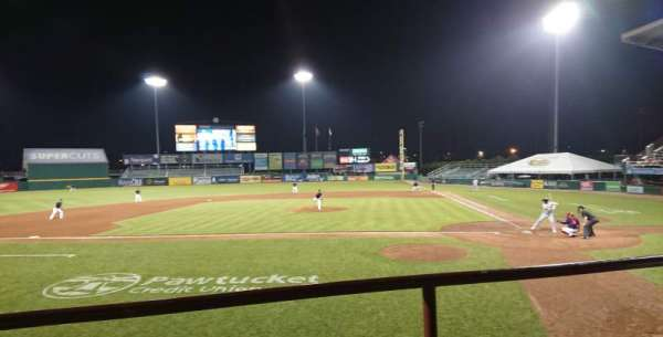 McCoy Stadium, section: 9, row: B, seat: 10