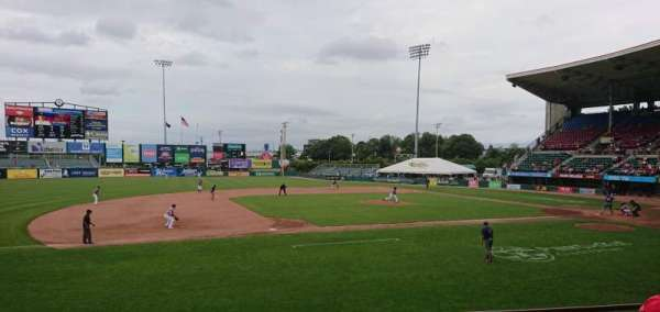 McCoy Stadium, section: 12, row: D, seat: 10