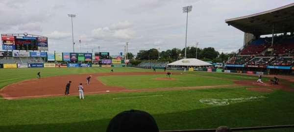 McCoy Stadium, section: 12, row: D, seat: 5
