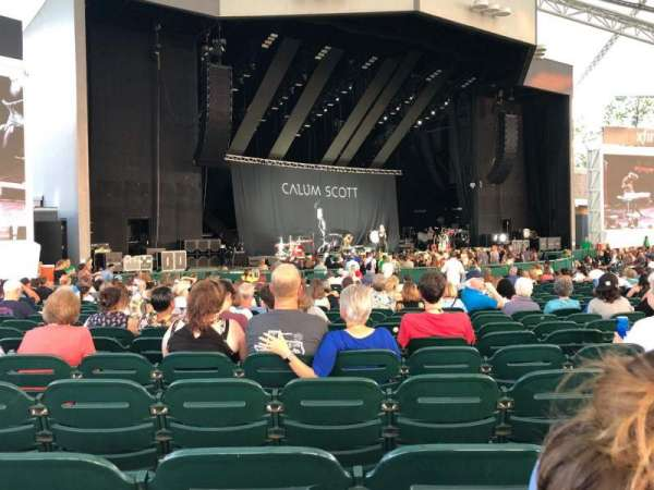 Cynthia Woods Mitchell Pavilion, section: 101, row: AA, seat: 21