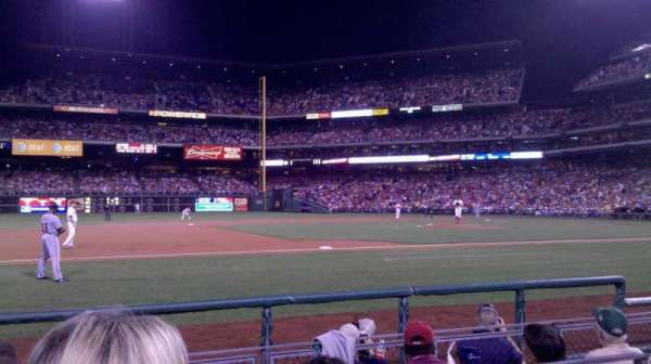 Citizens Bank Park, section: 132, row: 2, seat: 10
