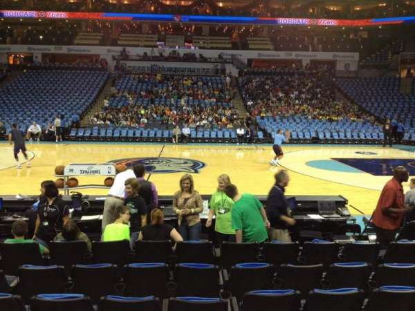 Spectrum Center, section: 104, row: E, seat: 9
