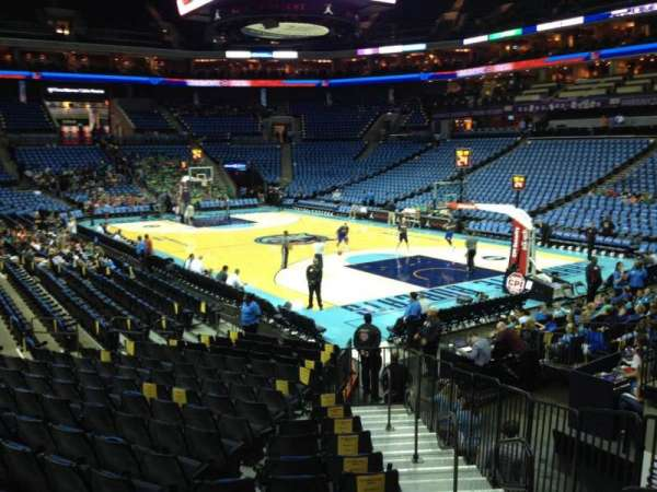 Spectrum Center, section: 112, row: O, seat: 2
