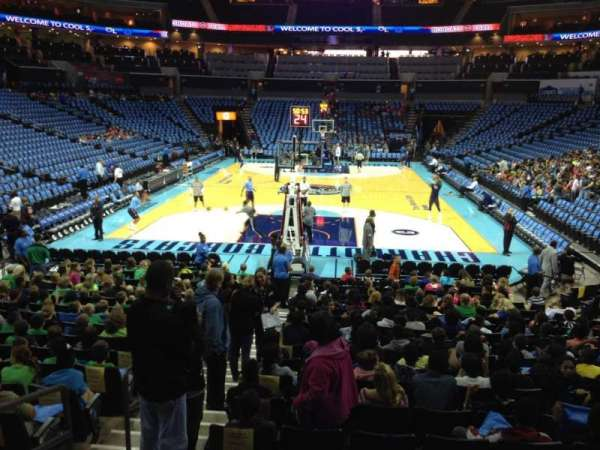 Spectrum Center, section: 117, row: O, seat: 15