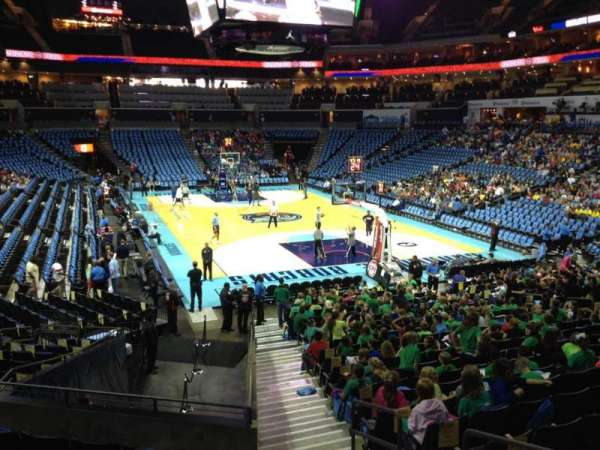 Spectrum Center, section: 102, row: S, seat: 2