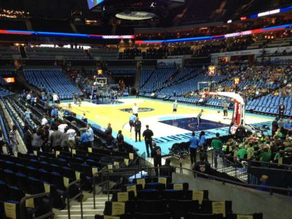 Spectrum Center, section: 102, row: N, seat: 13