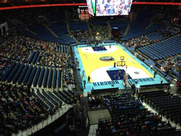 Spectrum Center, section: 218, row: A3, seat: 11