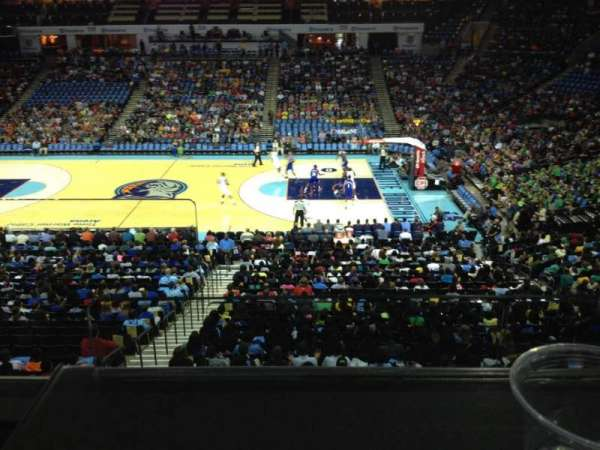Spectrum Center, section: F01, row: D, seat: 7